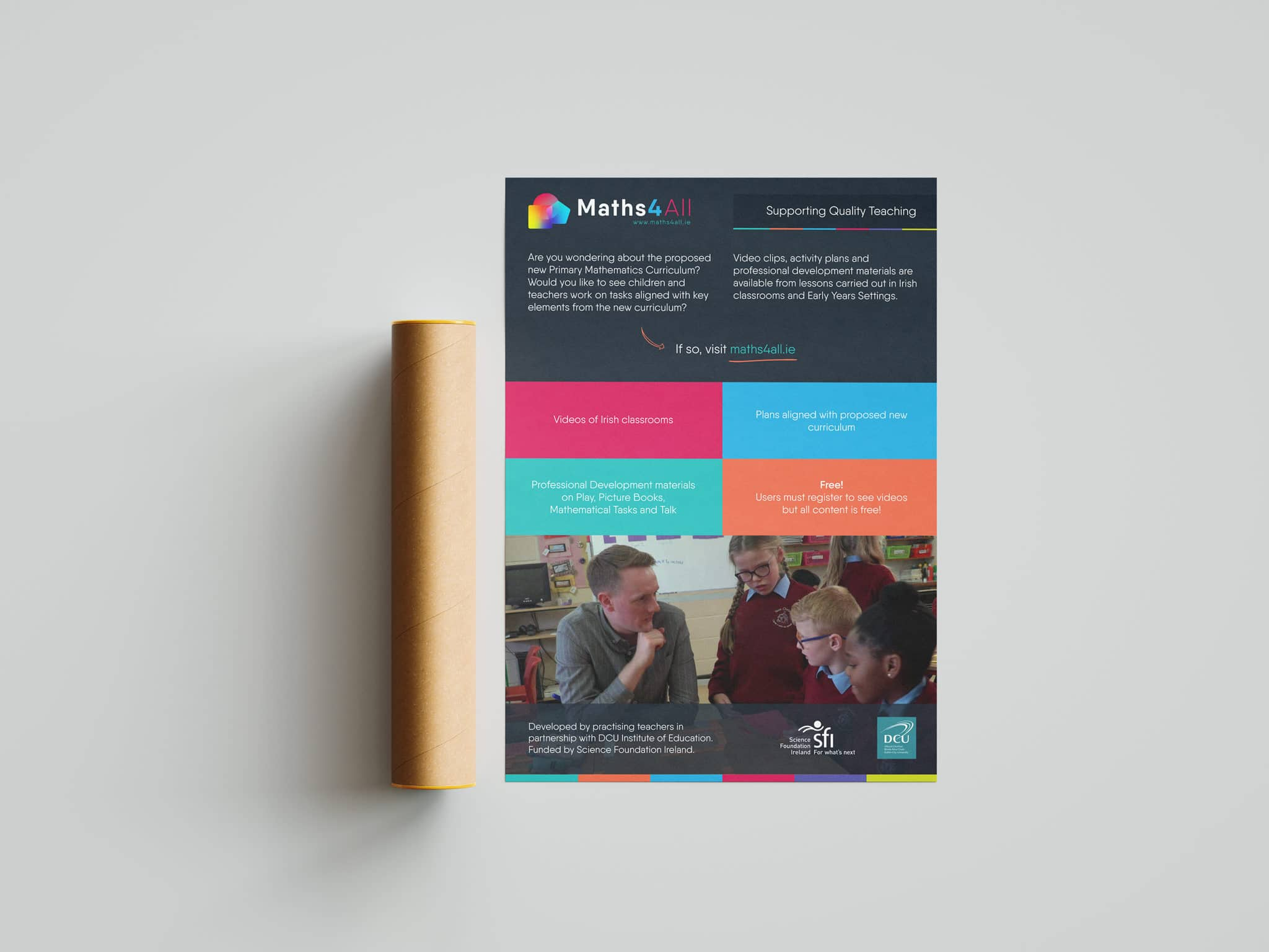 Maths4all Poster Mockup